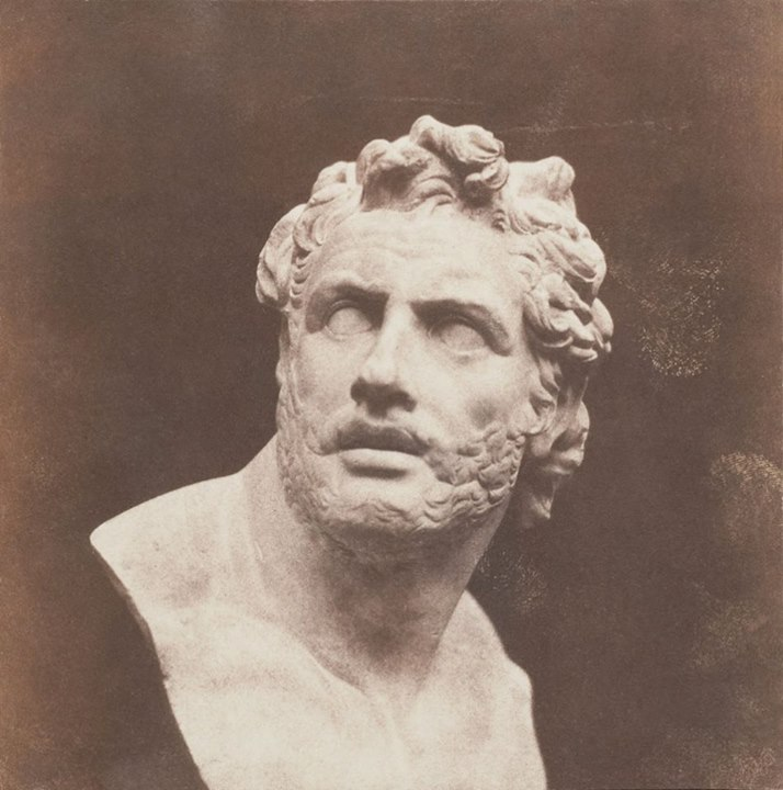Henry Fox Talbot - Plaster Bust of Patroclus- 1846