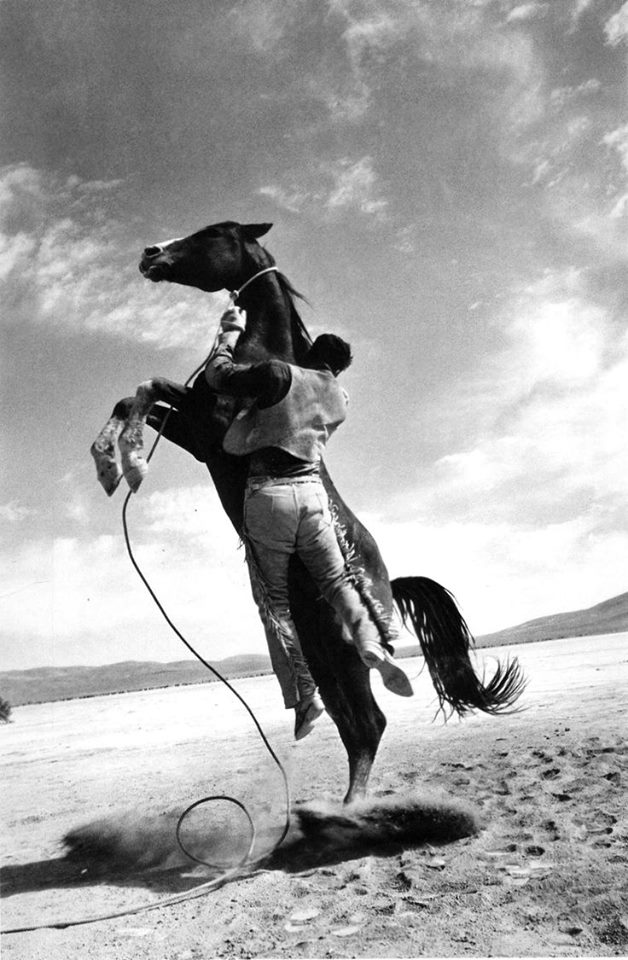 -The Misfits- directed by John Huston- 1961. Photo by Ernst Haas.jpg