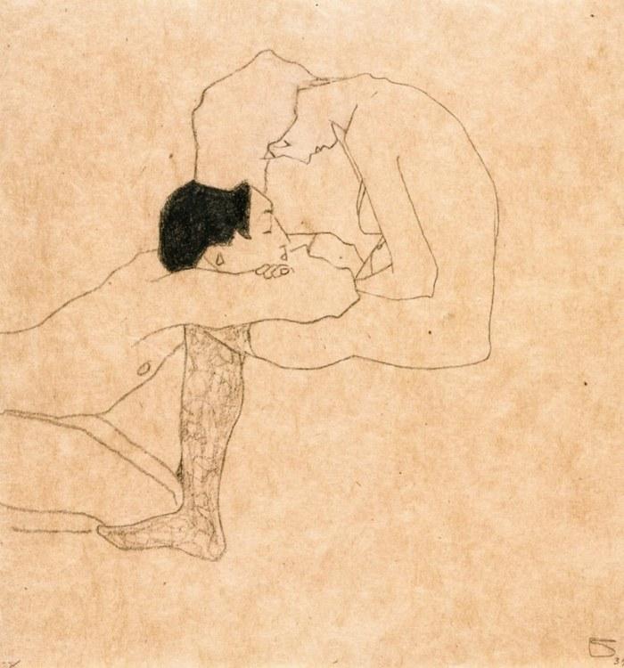 Egon Schiele- -Lovers-- c.1909.jpg