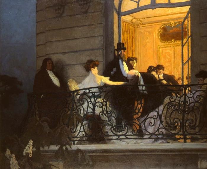 René-Xavier Prinet - Le balcon -The balcony-.jpg