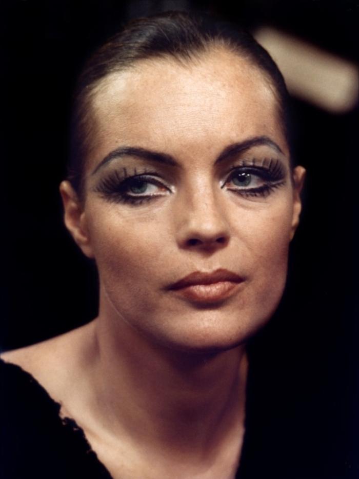 Portrait of Romy Schneider in L-important c-est d-aimer directed by Andrzej Zulawski- 1975. Photo by Jean-Pierre Fizet.JPG