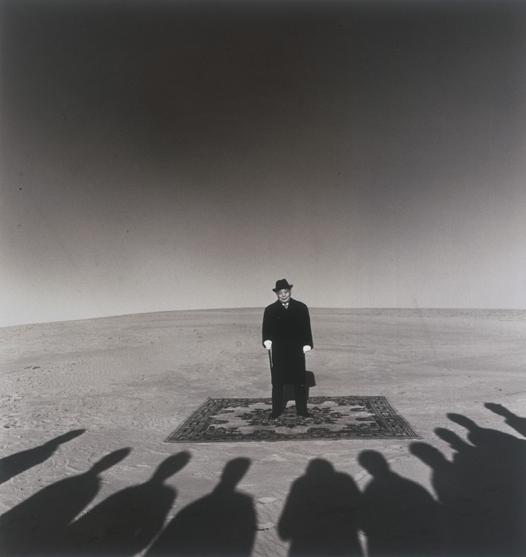 Shoji Ueda- Dunes- Portrait of Mr. Sohji Yamakawa- 1984.png