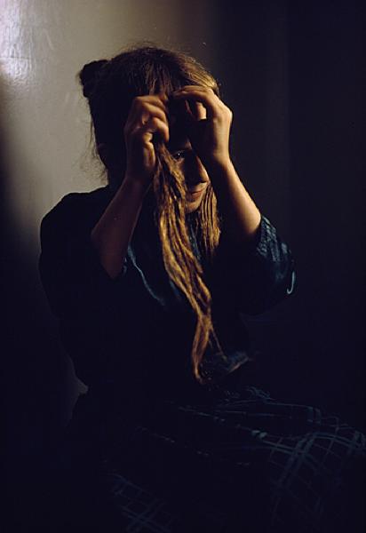 "William Albert Allard, ""Kathy Walter, Spring Creek Colony"", Lewistown, Montana, 1969.png"